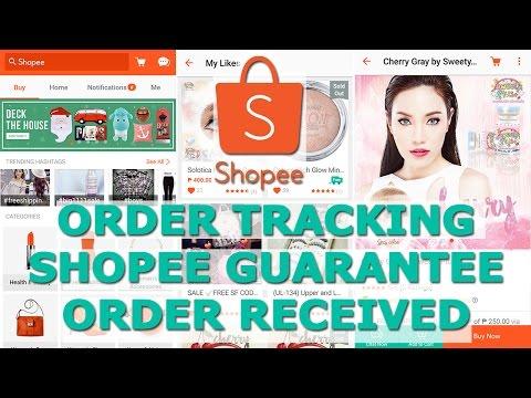 Shopee Demo 3: Shopee Order Tracking + Order Received | ChubbyChiniCatt