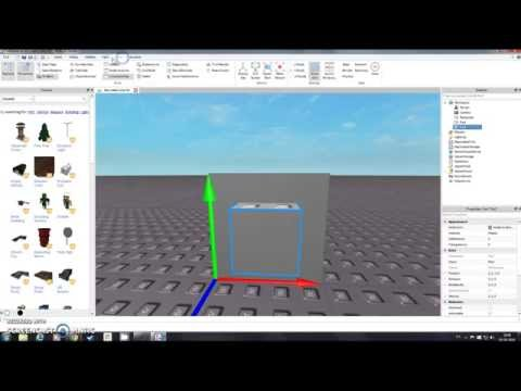 How to make a hole in a block/ROBLOX