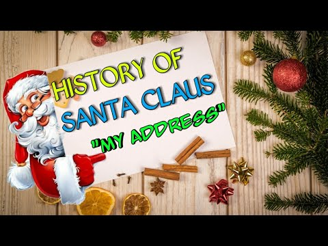 HISTORY OF SANTA CLAUS.. AND HIS ADDRESS.. IN DETAIL...  IN BENGALI...