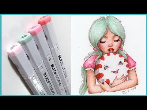 FALLING BACK IN LOVE WITH MARKERS 🎨 Studio Sessions Ep. 32