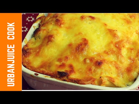 Rigatoni Pasta Cheese Bake With Beef