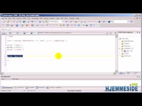 Hvordan kode PHP - Del 6 Arrays, array keys, associative og index keys i PHP 2/2