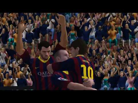 Fifa 14 android amazing goal by messi