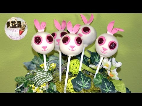 How To Make Cake Pops Bunny tutorial by Dissy Yummies