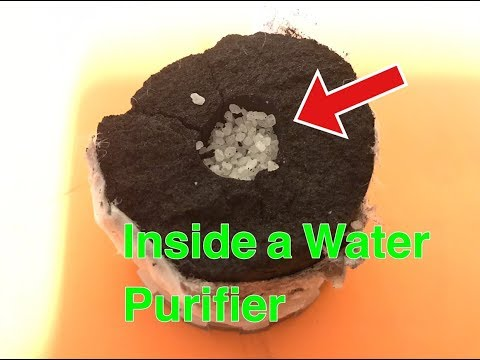 What's in a Water Purifier??