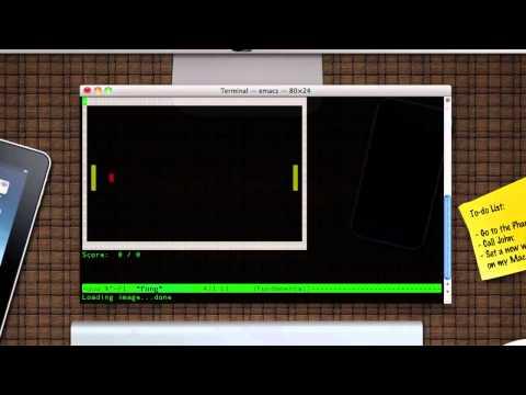 Mac OSX Easteregg - Ping Pong