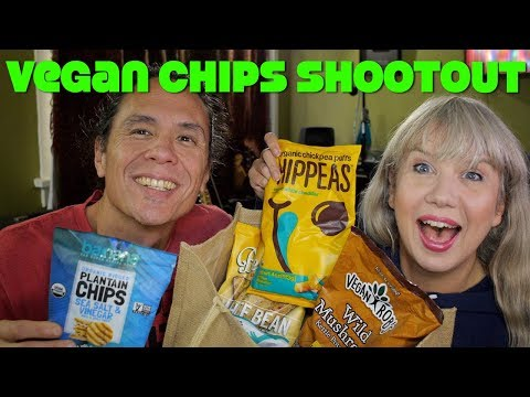 ULTIMATE Vegan Chips Shootout! Organic, GMO free, Gluten Free