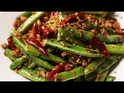 Quick and Easy Chinese Green Beans Recipe [干煸豆角]
