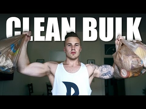 CLEAN BULK DIET | Full Day of Eating