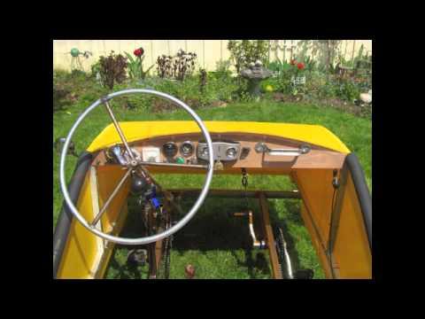 Burningman pedal car