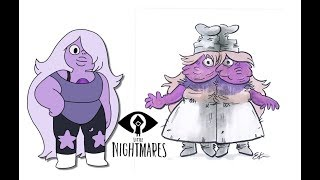 Steven Universe as Little Nightmares Characters