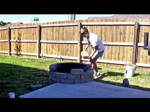 Episode 163 - Stone Fire Pit Build.