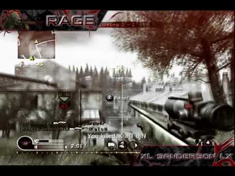 xl SandersoN lx :: Rage CoD4 Minitage