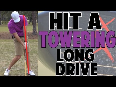 GOLF DISTANCE LESSON | How to Hit Towering Long Drives!