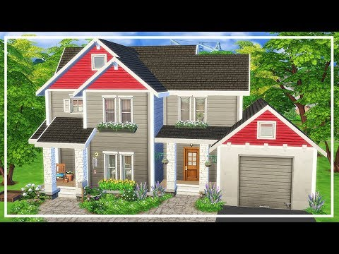 SIMS 4 CRAFTSMAN HOUSE 💛 Speed Build + Download