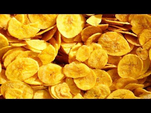 Banana Chips Tasty Crispy and Salty