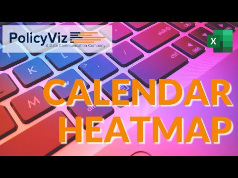 How to Create a Heatmap Calendar in Excel