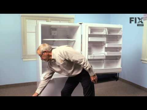 Amana Refrigerator Repair  – How to replace the Crisper Drawer Cover Support Post