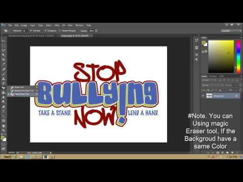 How To Make Poster Stop Bullying With Adobe Photos