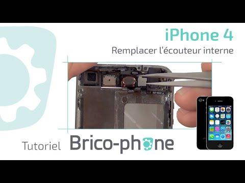 Tutoriel Changement écouteur interne iphone 4 HD