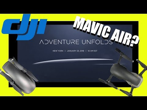 DJI Mavic Air LEAKED:  Offspring of the Spark and Mavic Pro? Adventure Unfolds Speculation