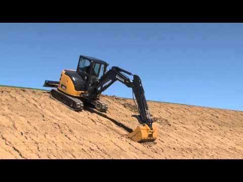 John Deere Compact Excavator Safety Tips