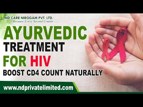 Ayurvedic Treatment For HIV | Boost CD4 Count Naturally