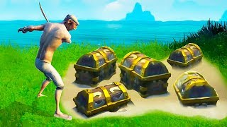 THE BIGGEST LOOT SPOT EVER FOUND! (Sea of Thieves)