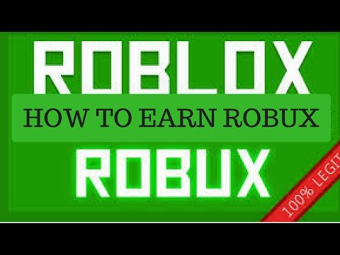HOW TO EARN ROBUX LEGIT FOR FREE!!NO HACKS