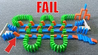 EPIC DOMINO FAIL COMPILATION (Vol. 2)