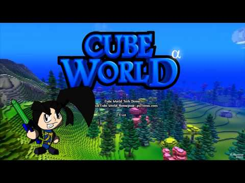 Update Video & Cube World Tech Demo!