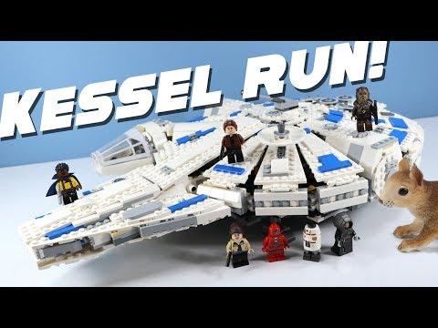 LEGO Star Wars Kessel Run Millennium Falcon Speed Build Solo Story