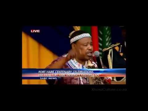 Imbongi - Xhosa Poet  - Jongela Nojozi