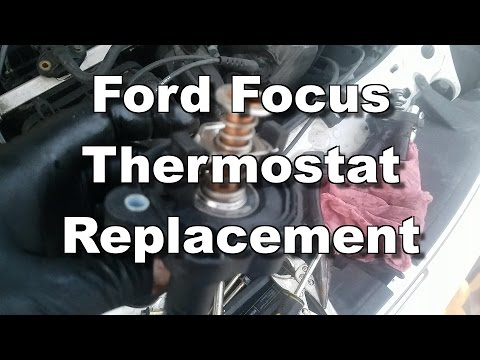 Ford Focus Thermostat Replacement - 2005-2011