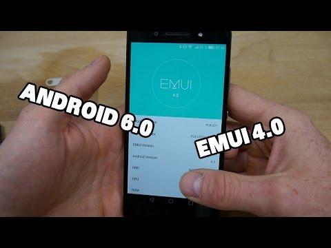 Tutorial: Honor 7 Update EMUI 4.0 Android 6.0 Marshmallow [deutsch]