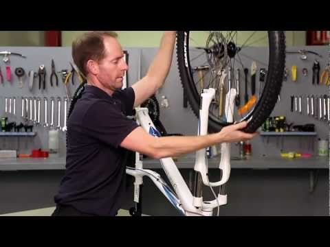 Removing a wheel with Disc Brakes