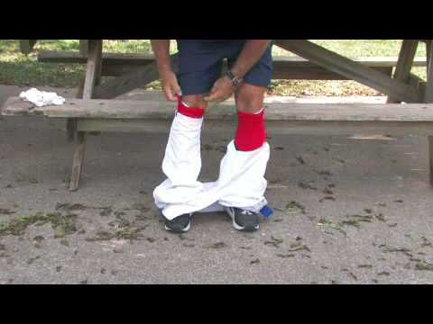 How to Roll Up Baseball Pants