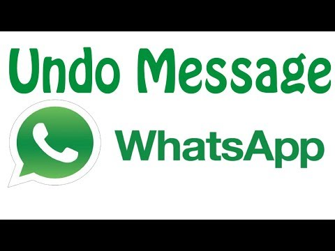 Delete Whatsapp Message For Everyone- Whatsapp New Feature