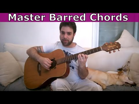 How to Memorize,  Find & Practice Barre Chords - The Ultimate Guitar Lesson