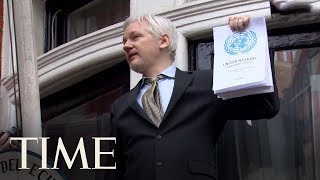U.S. Charges WikiLeaks' Julian Assange With Receiving And Publishing Classified Information | TIME