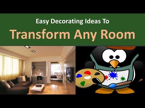 Easy Decorating Ideas to Transform Any Room.|Select the paint color last.