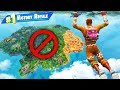 Can You WIN WITHOUT LANDING? in Fortnite Battle Royale