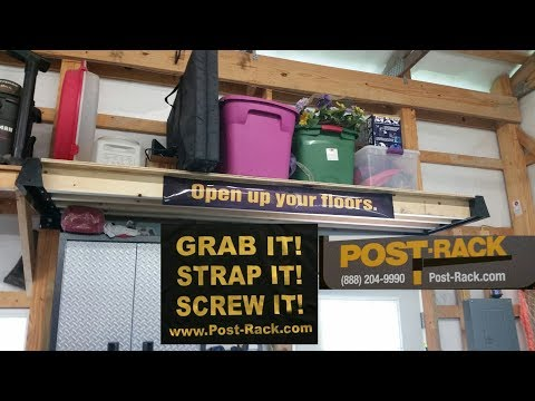 POST-Rack.com Pole Barn Shelving /Work Benches  Review Update By KVUSMC