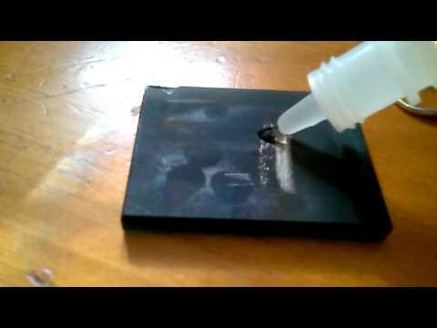 Acid Testing a 14k White Gold Ring