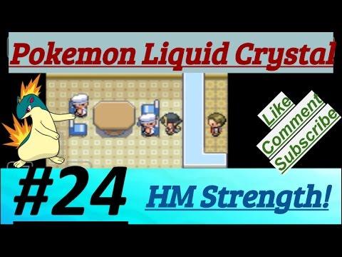 Pokemon Liquid Crystal Episode 24 Got HM Strength & Reached Olivine City & Route 39