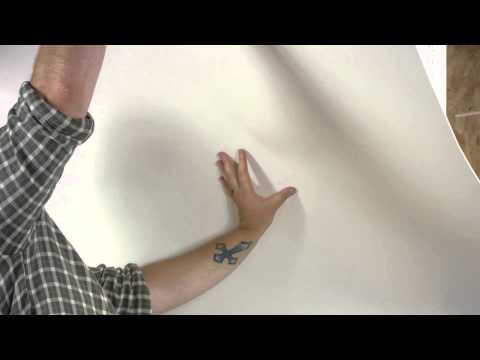 How to Install FRP Wall Paneling in a Bathroom  : Walls & Paneling