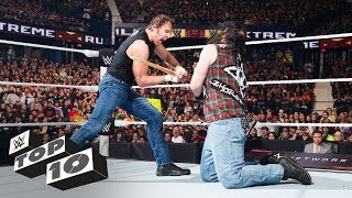WWE Extreme Rules lethal weapons - WWE Top 10