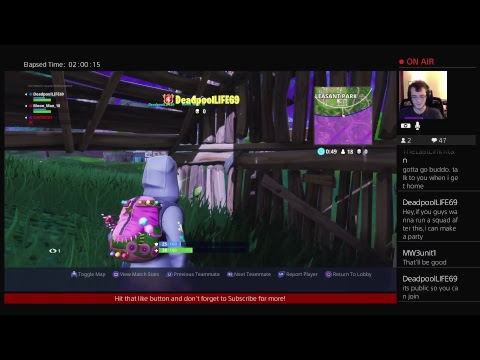 Fortnite Battle Royale (14th Win Attempt)