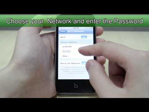 How to Set Up Wifi on Apple iPhone 4