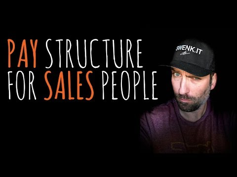 PAY STRUCTURE FOR DIGITAL MARKETING AGENCY SALES | Creative Agency Advice | SwenkToday #107